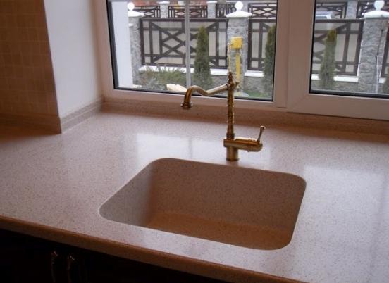 столешницы из акрилового камня для ванной комнаты цена