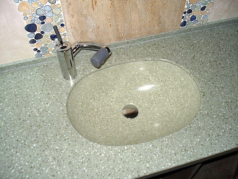 Искусственный камень раковина своими руками
