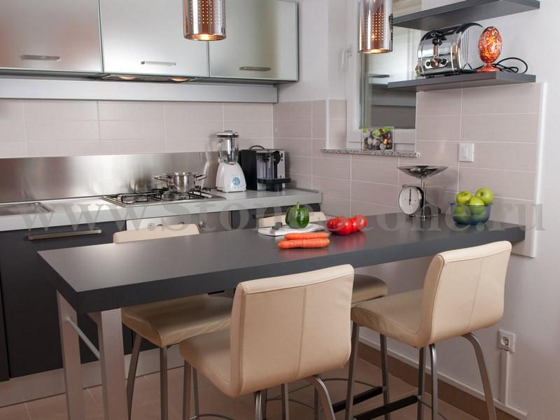 барная стойка для кухни из искусственного камня фото цены кухонных